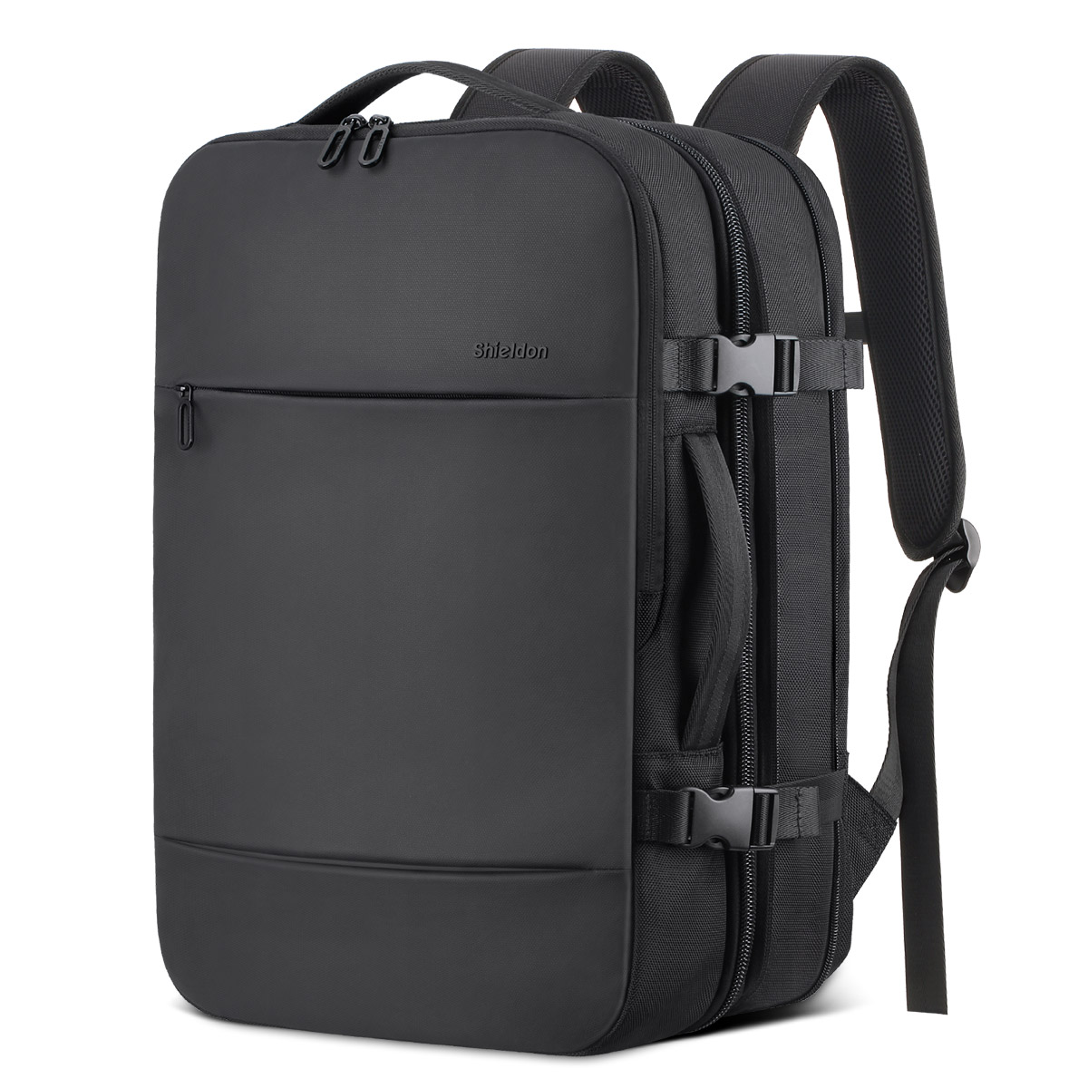 SHIELDON Travel Carry-on Backpack, 17 Inch Laptop Backpack 23L-38L