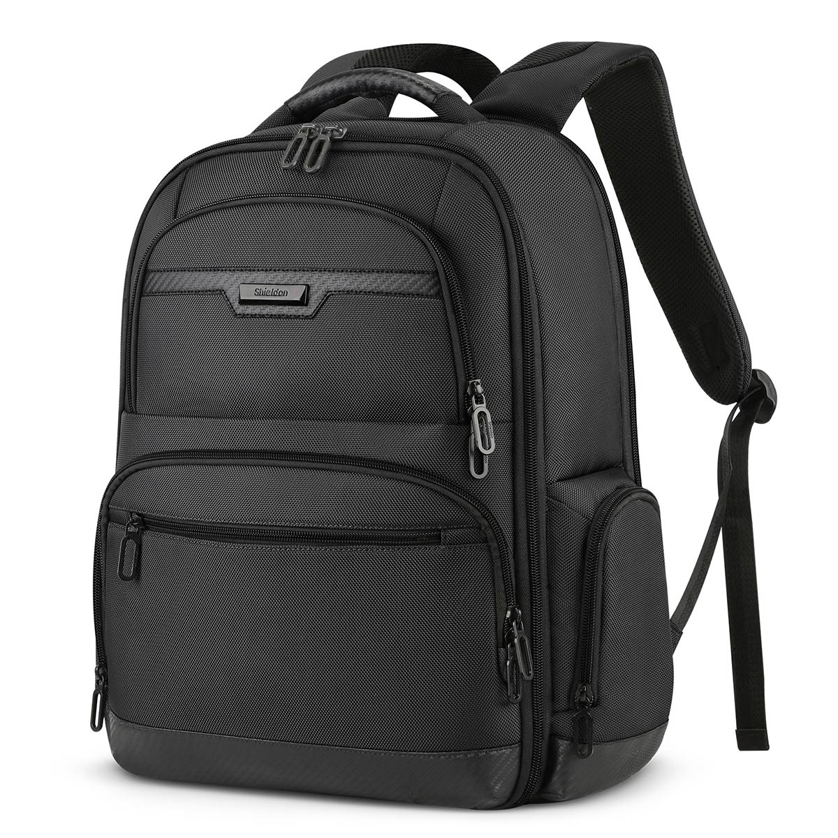 SHIELDON Laptop Backpack 15.6 Inches, Travel Notebook Backpack Bag Casual Daypack 19L