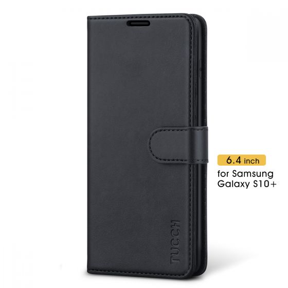 TUCCH Samsung Galaxy S10 Plus Wallet Case - Samsung S10 Plus Leather Cover