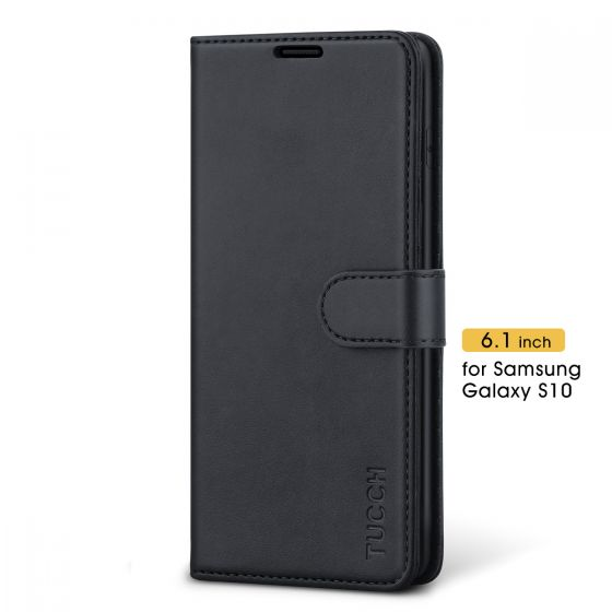 TUCCH Samsung Galaxy S10 Wallet Case - Samsung S10 Leather Cover