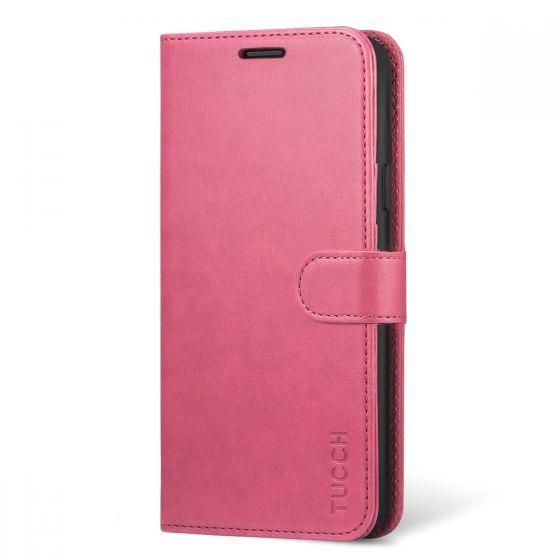 TUCCH Samsung Galaxy S9 Plus Wallet Case, Kickstand, Magnetic Closure, Premium PU Folio Leather Case