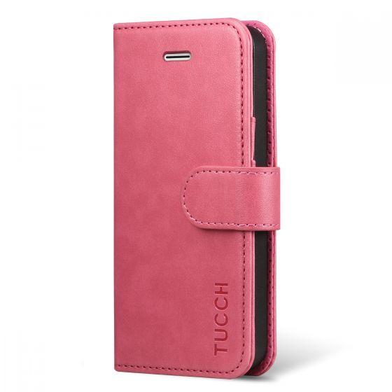 on sale 7d059 0fc3d TUCCH iPhone SE Case, iPhone 5S Case, iphone 5 Case, Flip Leather Case