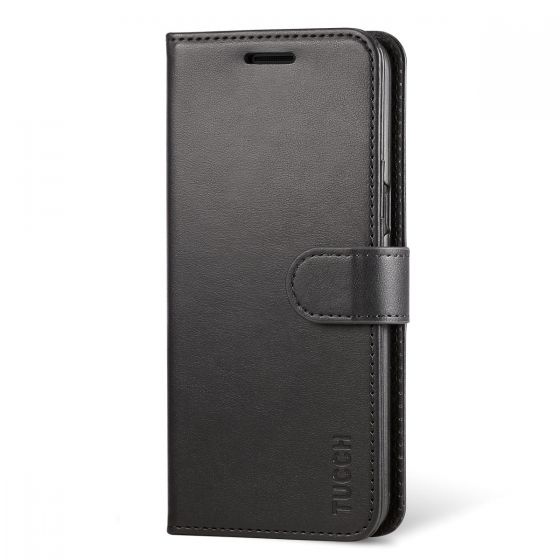 TUCCH Samsung Galaxy S8 Plus Case, Magnetic Flip Leather Case