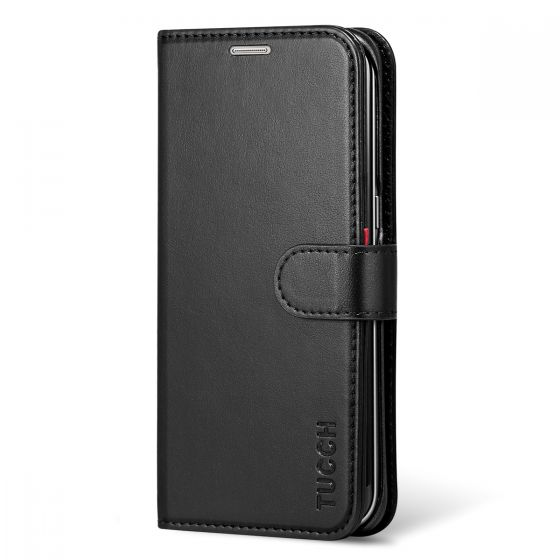 TUCCH Galaxy S7 Edge Folio Wallet Case, Magnetic Closure