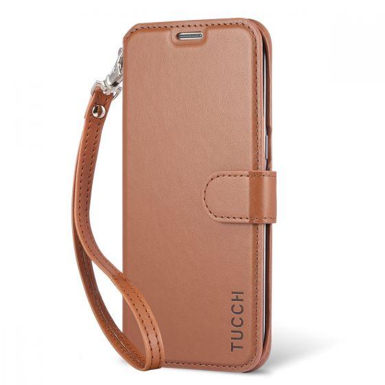 TUCCH Galaxy S7 Edge Flip Folio Case - Kickstand Feature