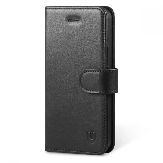 SHIELDON iPhone 5S Genuine Case - Leather Wallet Case