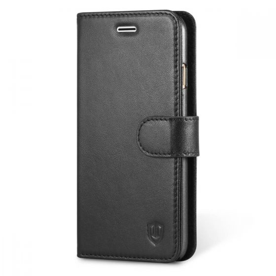 SHIELDON iPhone 6 Card Holder Genuine Leather Wallet Case