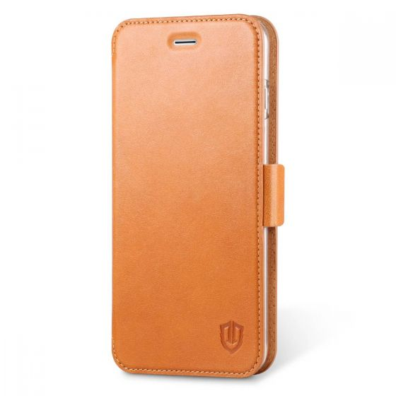 SHIELDON iPhone 6S Plus Leather Case with Card Holder