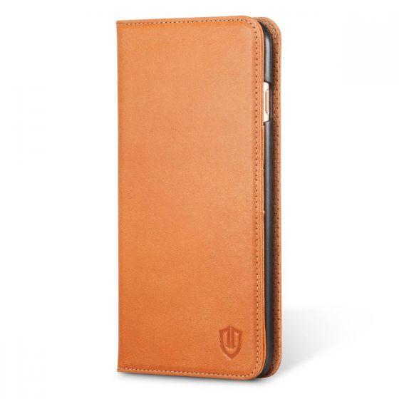 SHIELDON iPhone 6 Plus Genuine Flip Book Case Wallet Cover