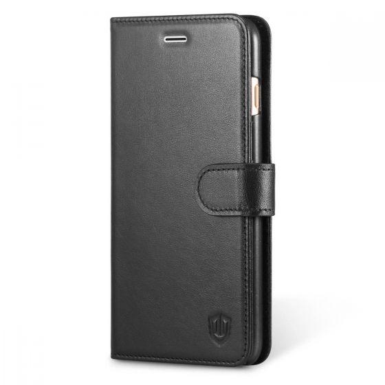 SHIELDON iPhone 6s Plus Folio Wallet Phone Cover Genuine Leather Case