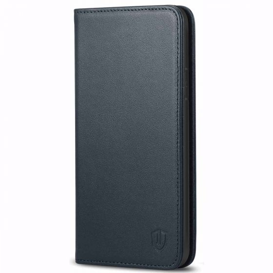 SHIELDON iPhone 7 Plus Leather Case, Flip Design, Magnetic Closure, Wallet and kickstand function