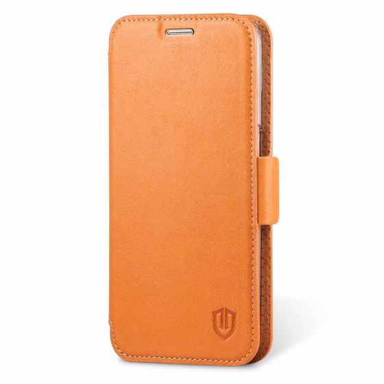SHIELDON Galaxy S7 Genuine Leather Wallet Case