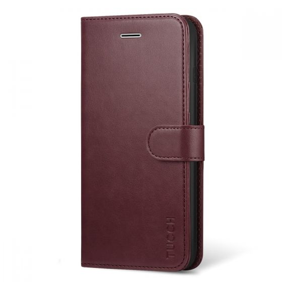 TUCCH iPhone 8 Plus Wallet Case, iPhone 7 Plus Leather Cover with Beautiful Style