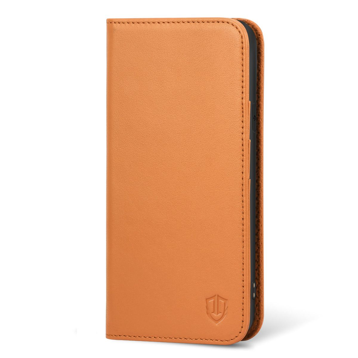 the best attitude de38e 5db0a SHIELDON iPhone 6 Leather Book Flip Genuine Case, iPhone 6s Leather Wallet  Case
