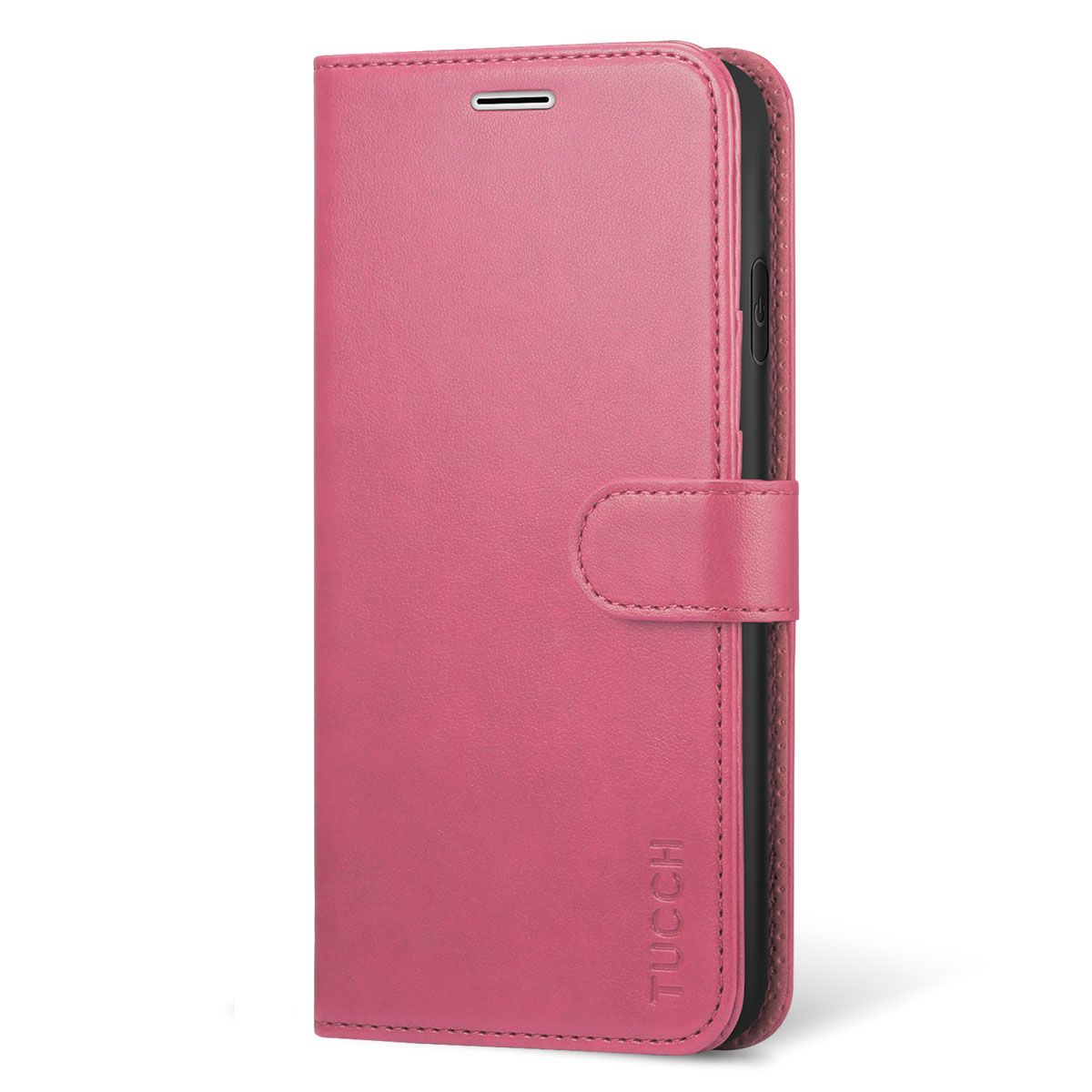 save off 600d2 e0d49 TUCCH iPhone Xs Max Wallet Case - iPhone 10s Max Leather Case Cover - Pink