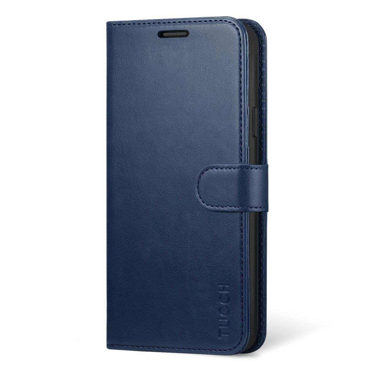 timeless design d50c9 8905e TUCCH Samsung Galaxy S9 Plus Case, Premium PU Folio Leather Case, TPU  Shockproof Interior Case