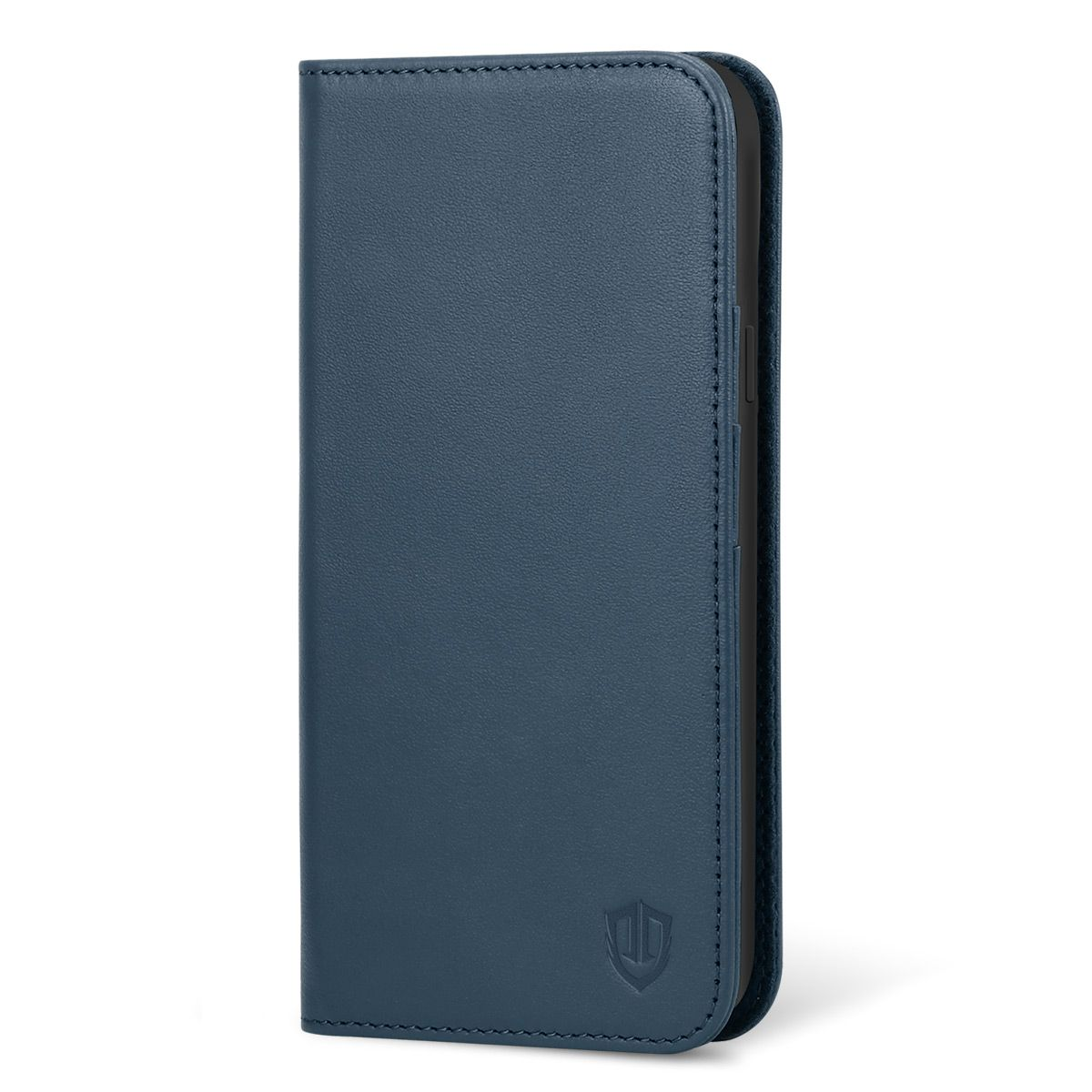factory authentic 059ad db839 SHIELDON Samsung Galaxy S9 Genuine Leather Wallet Case with Kickstand