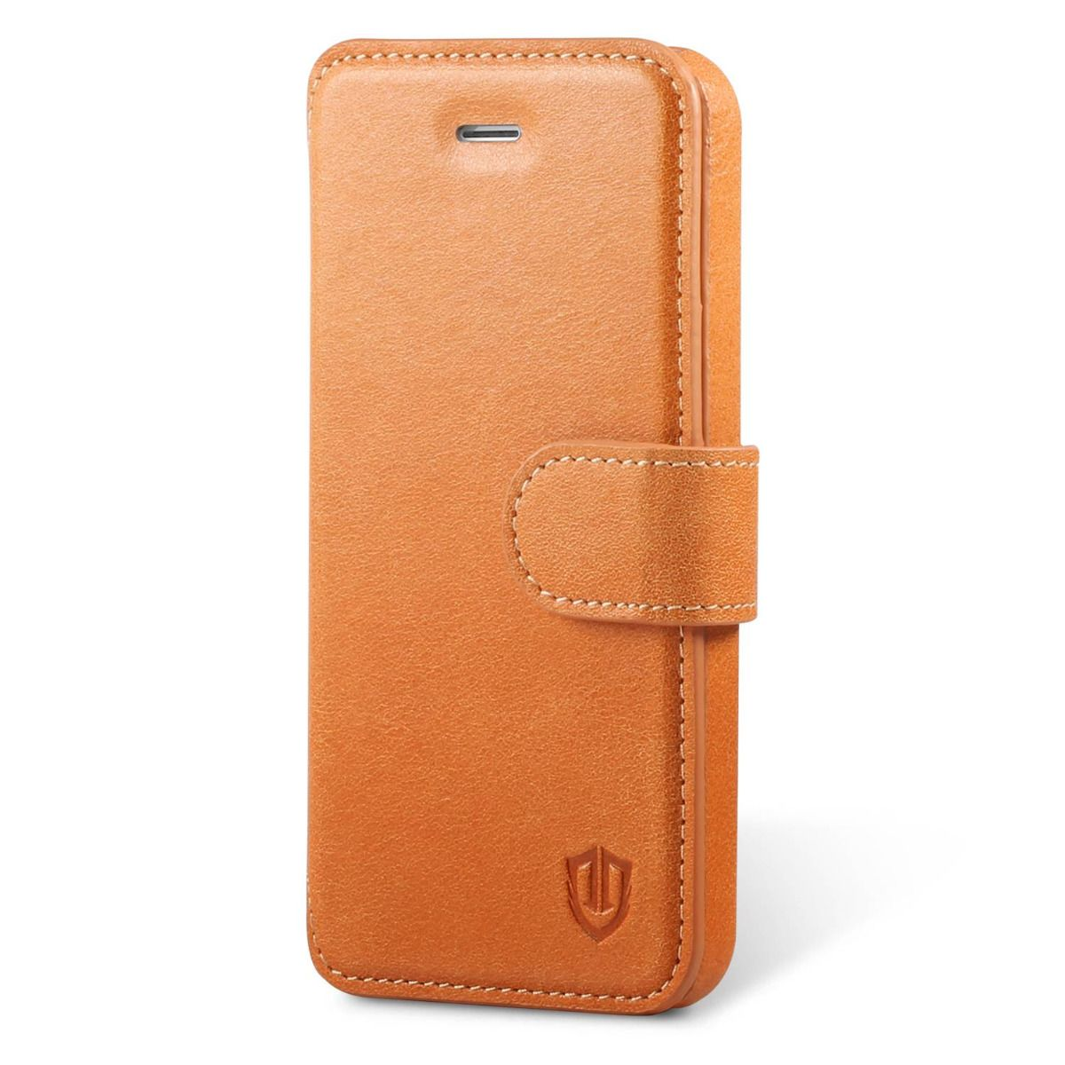 Shieldon iphone 5s leather folio cover genuine wallet phone case - Iphone 5s leather case ...