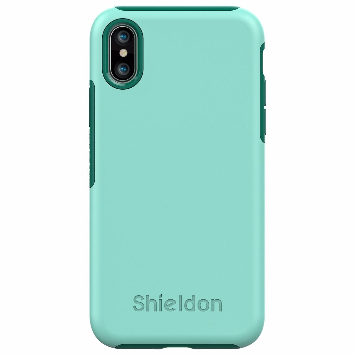 huge discount 7cb46 8ffbd SHIELDON iPhone XS Case - Drop Protection Case for Apple iPhone X / iPhone  10 - Plateau Series
