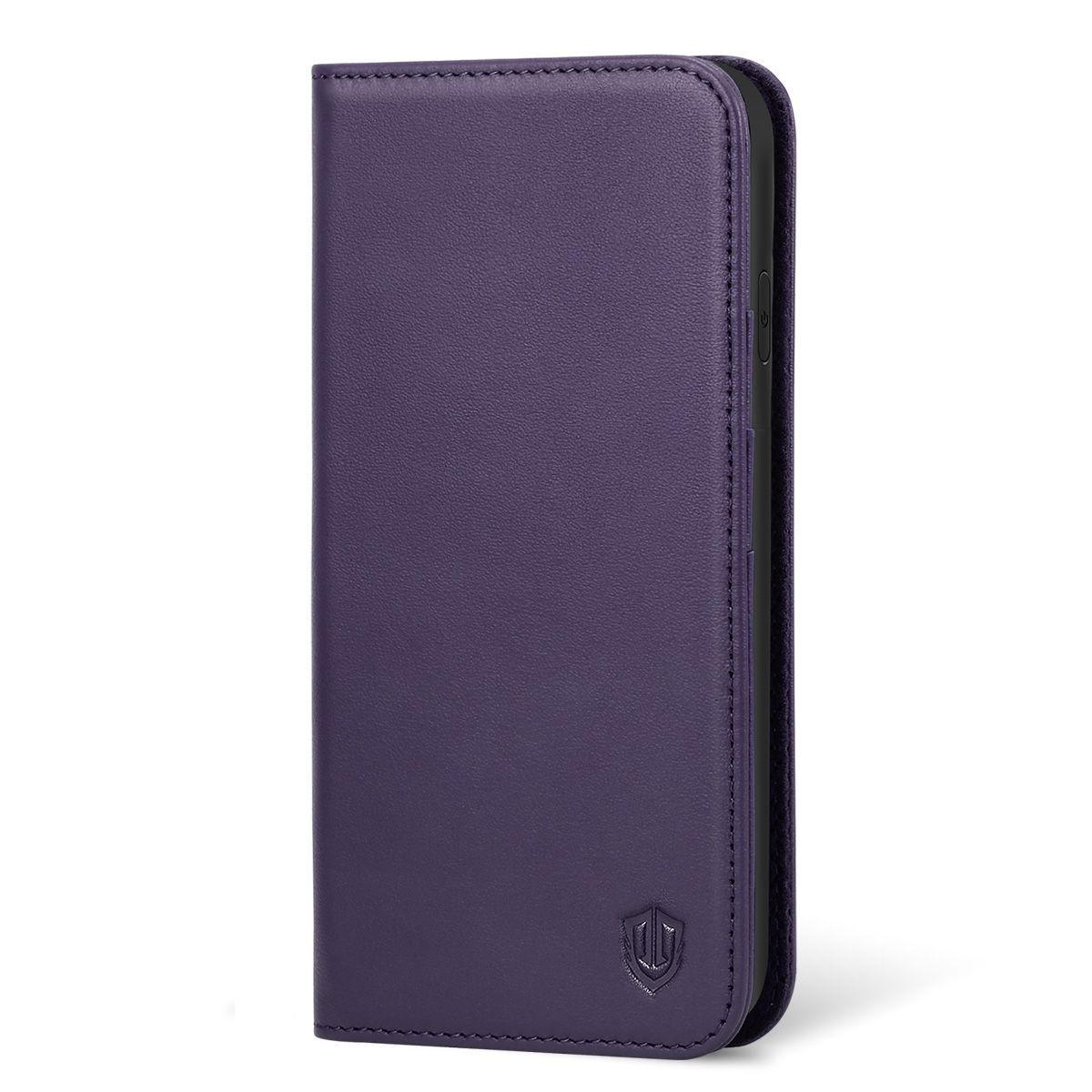 finest selection 20877 ca241 SHIELDON iPhone XR Leather Case, iPhone 10R Genuine Leather Folio Wallet  Magnetic Protective Case with Shock Absorbing, RFID Blocking, Card Holder,  ...