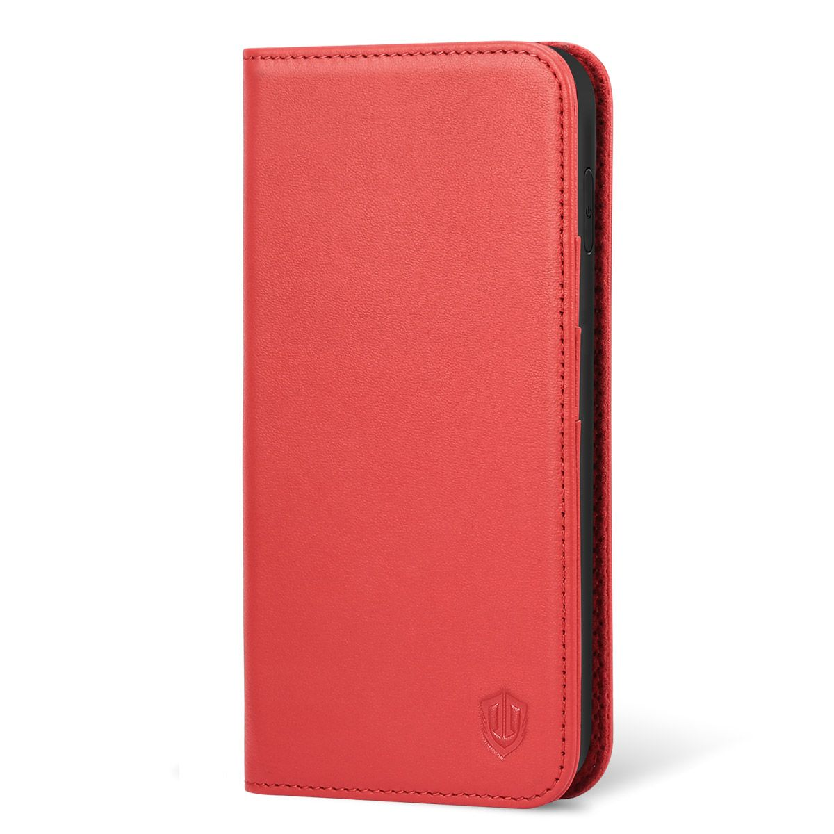 iphone xr case red leather