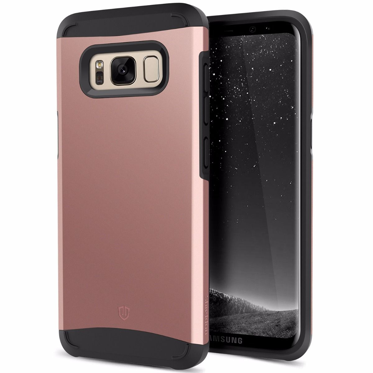 new styles 587a2 f5ca3 SHIELDON Best Galaxy S8 Case for Drop Protection - Sunrise Series