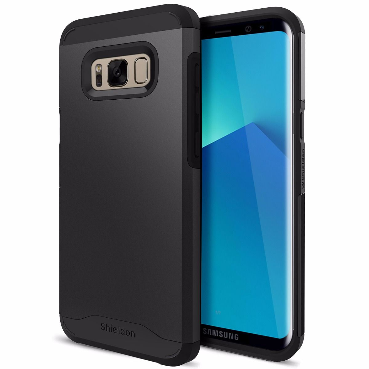 low priced 6efa4 9f294 SHIELDON Galaxy S8 Plus Drop Protection Case Mountain Series - Galaxy S8+  Protective Case