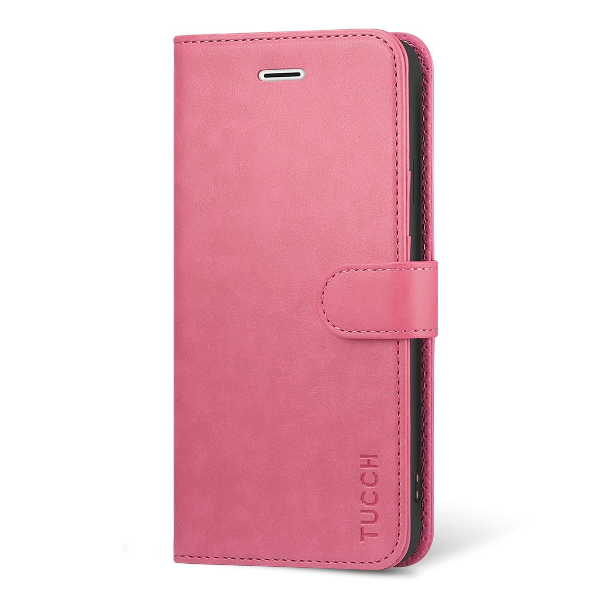 the latest b6208 1243b TUCCH iPhone 6s/6 Case, Stand Holder and Magnetic Closure, Flip Folio  Wallet Case