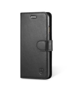 SHIELDON iPhone 6S Genuine Leather Flip Case with Card Holder