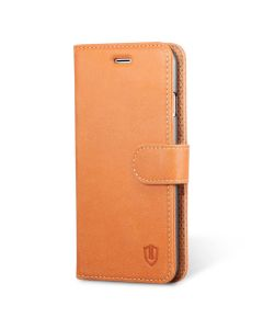 SHIELDON iPhone 6 Genuine Leather Flip Book Case