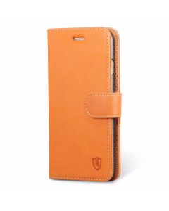 SHIELDON iPhone 7 Genuine Leather Phone Cover Wallet Case
