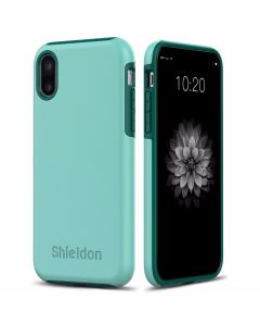 SHIELDON iPhone X Case - Drop Protection Case for Apple iPhone X - Plateau Series