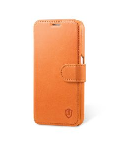 SHIELDON Galaxy S6 Genuine Leather Book Case