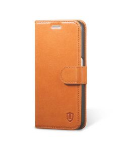 SHIELDON Galaxy S6 Genuine Leather Wallet Case