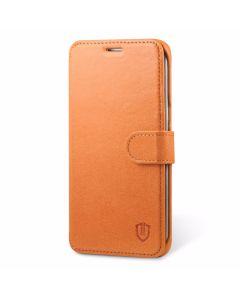SHIELDON Galaxy S6 Edge Plus Genuine Leather Kickstand Case