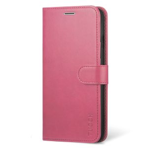 TUCCH iPhone Xs Max Wallet Case - iPhone 10s Max Leather Case Cover - Pink