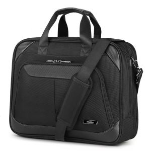 SHIELDON Laptop Bag 15.6-inch Business Briefcase Notebook Bag Messenger Bag Carry-on Handbag Durable Water Resistant Multi-Functional Travel Shoulder Bag with Strap for Men & Women