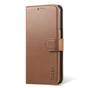 TUCCH Galaxy S7 Case, Magnetic Clasp Stand Retro Leather Wallet Case