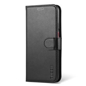 TUCCH Galaxy S7 Case, Kickstand, Retro Leather Wallet Case