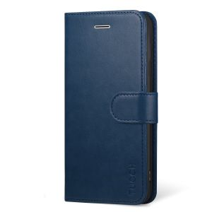 TUCCH iphone 6 / 6S PU Leather Flip Folio Wallet Case - TPU