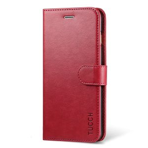 TUCCH iPhone 7 Plus Wallet Case, iPhone 8 Plus Case, PU Leather Flip Wallet Case