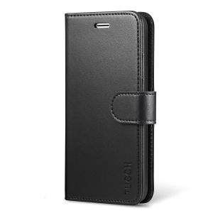 TUCCH iPhone 8 Wallet Case, iPhone 7 Case, Premium PU Leather Case with Card Slot, Stand Holder and Magnetic Closure