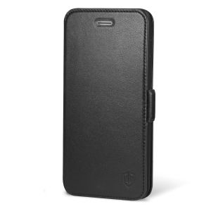 SHIELDON iPhone 7 Plus Folio Book Case with TPU Case - Genuine Leather, Kickstand, Magnetic Closure