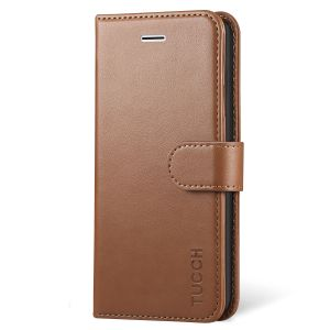 TUCCH iPhone X Wallet Case, iPhone 10 Leather Case, Premium PU Folio Case with Kickstand