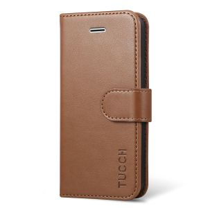 TUCCH Wallet Case for iPhone SE / iPhone 5s / iPhone 5, Magnetic Closure