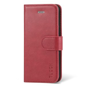TUCCH Flip Leather Wallet Case, Magnetic Closure for iPhone SE/5S/5
