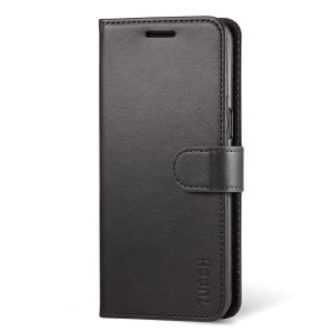 TUCCH Samsung S8 Magnetic Flip Folio PU Leather Wallet Case