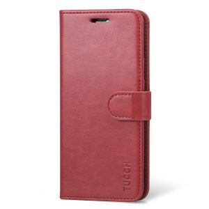 TUCCH Samsung S8 Flip Leather Book Case with Money Pouch Kickstand Feature, Magnetic Clourse