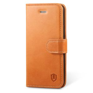 SHIELDON iPhone 5 Genuine Flip Book Wallet Case