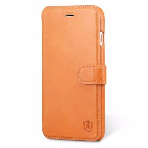 SHIELDON iPhone 7 Plus / iPhone 8 Plus Case - Genuine Leather Wallet Case